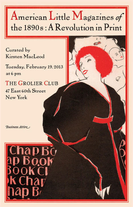 Exciting Show Coming Up on American Little Magazines of the 1890s (NYC) | English Literature after 1700 | Scoop.it