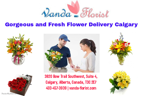 Gorgeous and Fresh Flower Delivery Calgary                                                              | Vanda Florist | Scoop.it