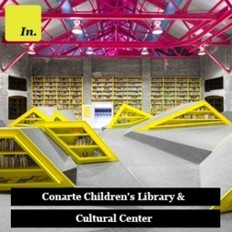 Conarte Children's Library & Cultural Center | | Library design and architecture | Scoop.it