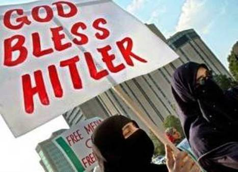Muslims flying the Nazi flag in Israel prove they no longer feel the need to hide their genocidal tendencies, shared Hitler's goal of exterminating all the Jews. | News You Can Use - NO PINKSLIME | Scoop.it
