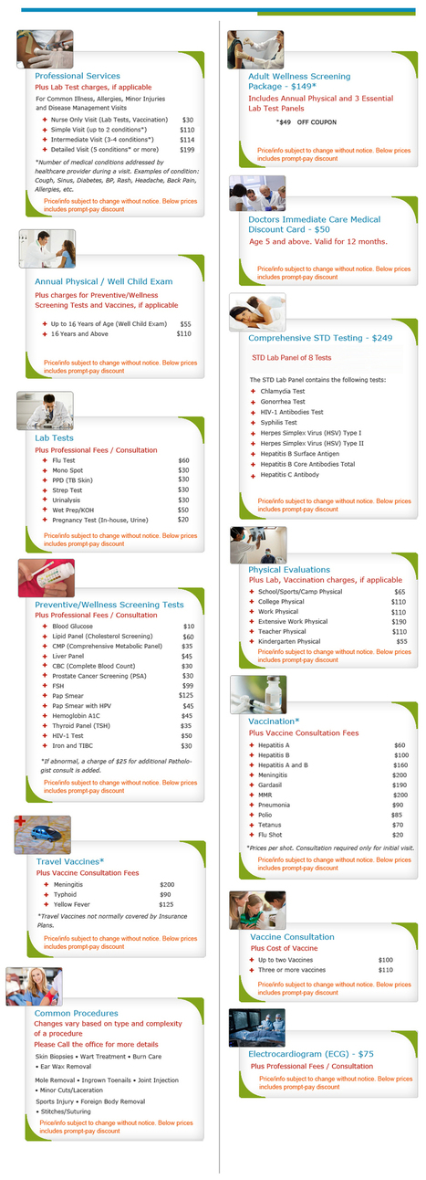 Coupons for Dot Physicals, STD Testing, Pre-employment Physicals | mortongrove immediate care | Scoop.it