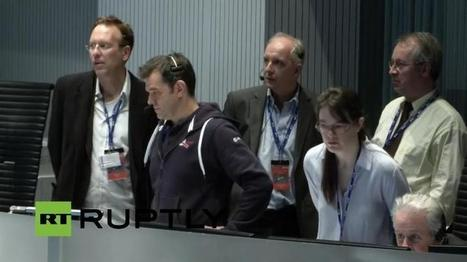LIVE EVENT : The European Space Agency's Rosetta mission #CometLanding   A Rich Selection Of The Latest News www.canbeweird.com   Scoop.it