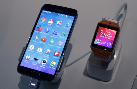Samsung unveils Galaxy S5 phone with heart-rate monitor | Realms of Healthcare and Business | Scoop.it