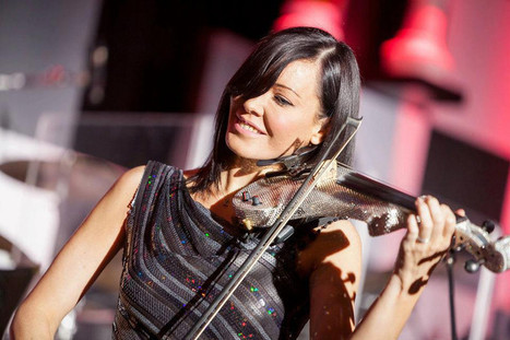 linzi stoppard | Tom Lohrmann Music | Electric Violin | Scoop.it