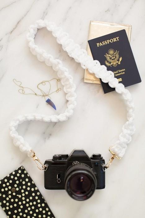 DIY: créez le strap de votre reflex   Trucs & astuces photo   Scoop.it