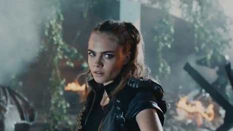 Marshawn Lynch and Cara Delevingne Suit Up for Call of Duty's Latest Epic Ad | Social Media | Scoop.it