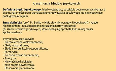 (PL) (PPT) - KnowHow Korektora | Maciej Andrzejczak (GoogleDrive) | Glossarissimo! | Scoop.it