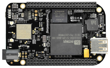 BeagleBone Black Wireless Board Gets WiFi and Bluetooth 4.1 LE, Drops Ethernet | Embedded Systems News | Scoop.it