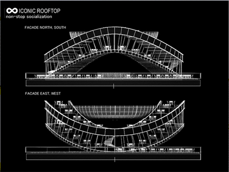 Connecting Rooftop/ Evgeni Leonov Architects - eVolo   Architecture Magazine   The Architecture of the City   Scoop.it