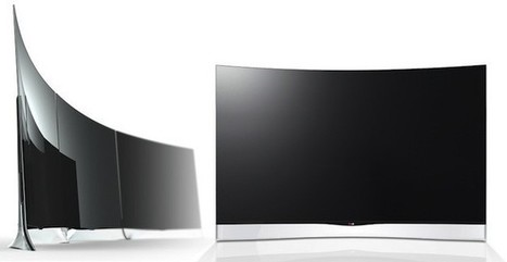 LG will launch the world's first 55-inch curved OLED HDTV - Engadget - Engadget | The New Technology in the World | Scoop.it