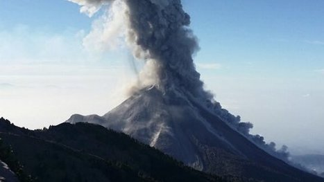 Incredible timelapse film shows Mexico volcano eruption | Geology | Scoop.it