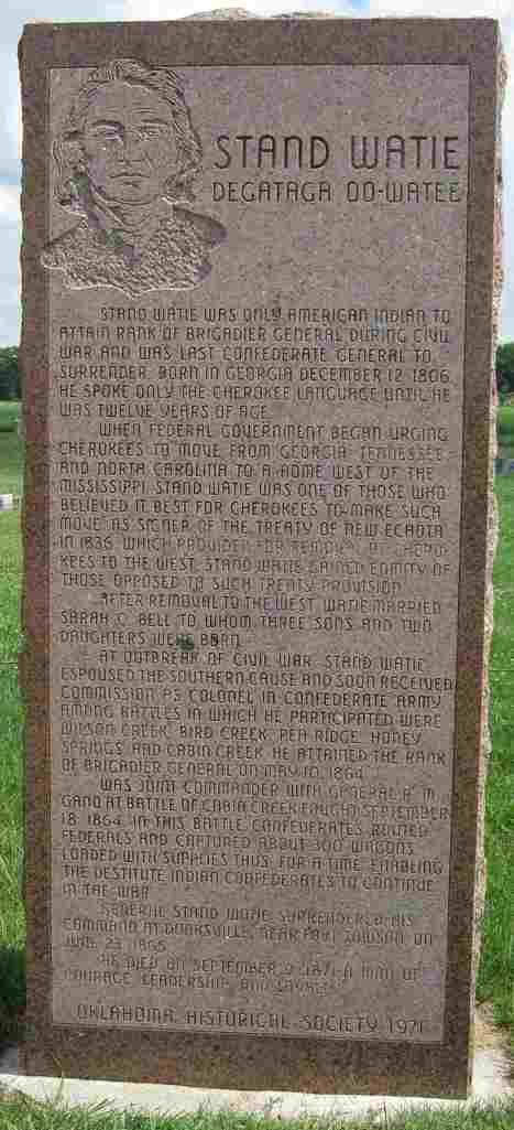 Stand Watie, Cherokee   Community Village World History   Scoop.it