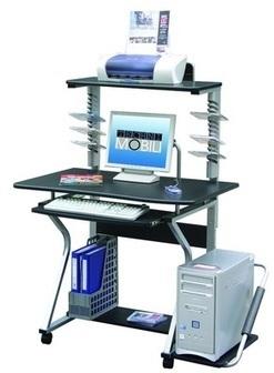 Techni Mobili Mobile Upright MDF Computer Desk | Home Office Furniture | Scoop.it