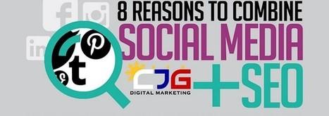 [Infographie] 8 raisons de combiner réseaux sociaux et SEO - Content Marketing | Social media | Scoop.it