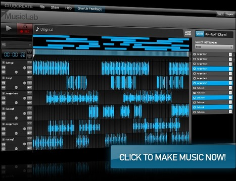 Looplabs. free online music mixing software | Time to Learn | Scoop.it