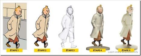 Le statuette di Tintin da collezionare | DailyComics | Scoop.it