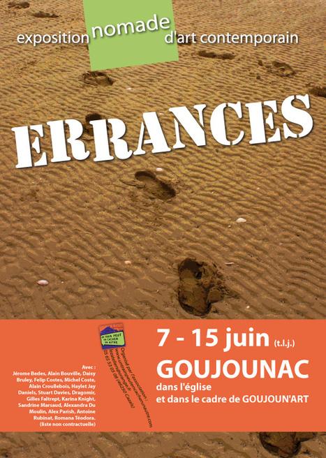 ERRANCES, Exposition Nomade d'Art Contemporain | art move | Scoop.it