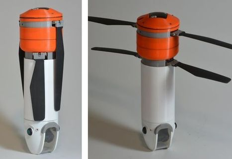 Modular Sprite drone is shaped like a thermos for better portability | alles voor de mediacoach | Scoop.it
