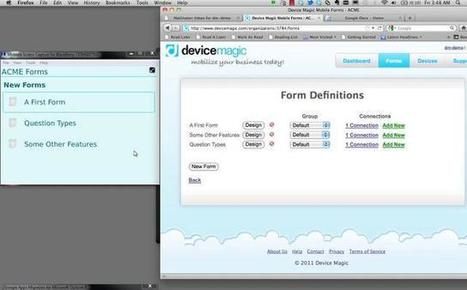 Mobile Forms Review - Making Sense Of Mobile Data | Best Smallbiz Apps | Scoop.it