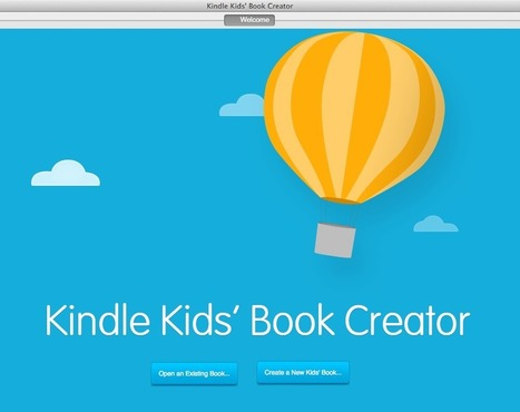 How to Publish an eBook with Kindle Kids Book Creator - Tutorial | Publishing with iBooks Author | Scoop.it
