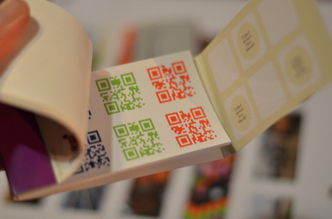 RGB QR Code Stickers | Internet world | Scoop.it