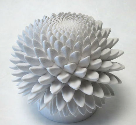 When Math and Art meet: Blooms — Strobe-Animated Sculptures | Amazing Science | Scoop.it