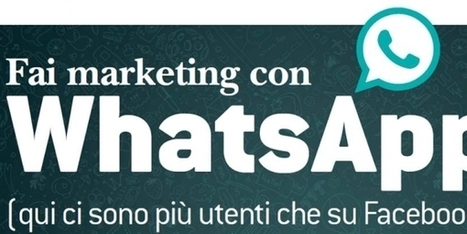 Come fare marketing con WhatsApp | Web Marketing per Artigiani e Creativi | Scoop.it