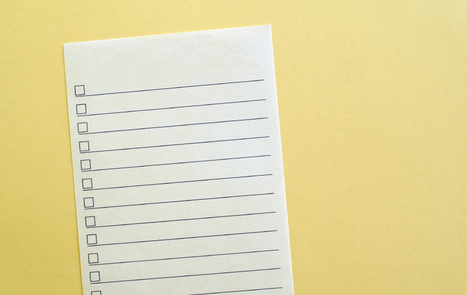 3 Lists Everyone (Especially Leaders) Should Keep | The Second Mile | Scoop.it