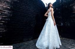 Elegant Shimmer Designer Wedding Gown | Wedding Accessories | Scoop.it