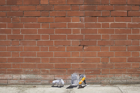 Tiny Street Art by Pablo Delgado   Culture and Fun - Art   Scoop.it