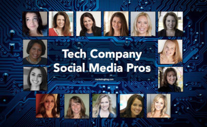 15 Women Who Rock Social Media at Top Tech Companies - Career Advice & Insights | All about Business | Scoop.it