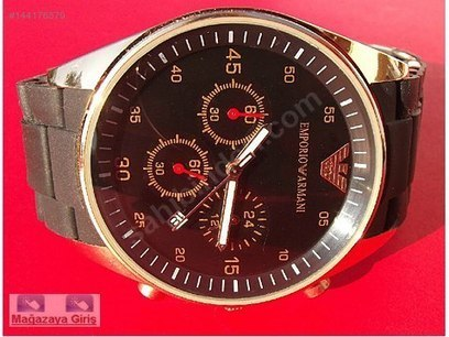 Emporio Armani Unisex Kol Saati Mağazadan Satılık 70 TL - 144176579   doğum günümde ne isterdim   Scoop.it