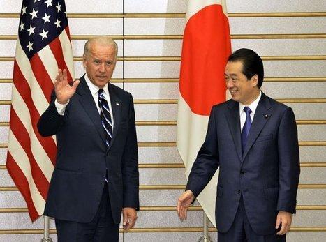 Le vice-président américain visite la zone du tsunami et loue le courage des Japonais   LExpress.fr   Japon : séisme, tsunami & conséquences   Scoop.it