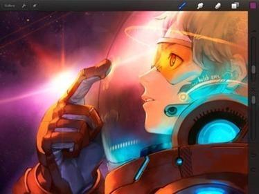 Procreate iPad Painting App Just Got a Big Update   Is the iPad a revolution?   Scoop.it