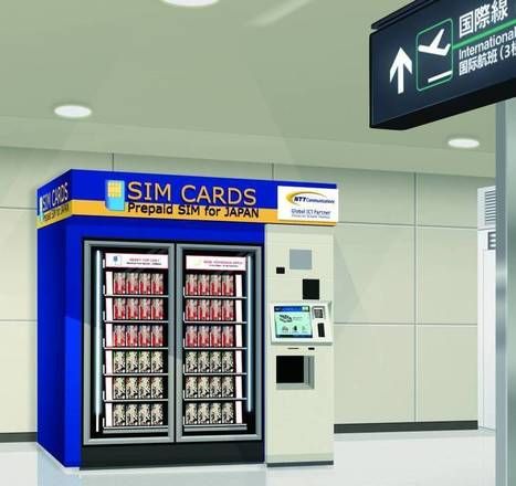 Narita airport to get SIM card vending machines | The Japan Times | ICT | Scoop.it