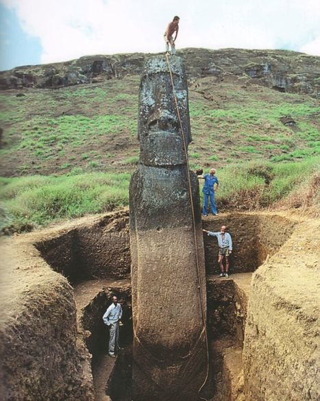 Easter Island: stones, history | Mysteries of the Unknown | Scoop.it
