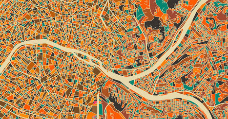 Un artiste revisite la cartographie des plus grandes villes du monde pour en faire des oeuvres d'art | Travel the world | Scoop.it