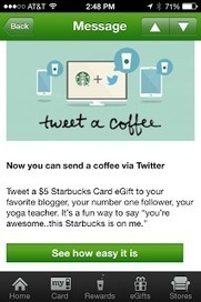 "@Starbucks - Your ""Tweet a Coffee"" Leaves a bad after taste! - Customer Experience 