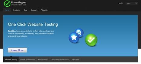 PowerMapper.com - Website Testing and Site Mapping Tools   Réseaux Sociaux et Web : Nouvelles   Scoop.it