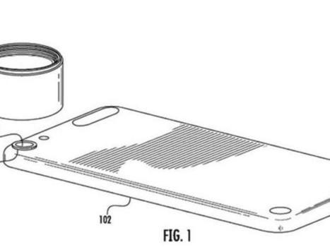 Apple obtiene patente para lentes intercambiables en el iPhone - CNET en Español | apple-ipe | Scoop.it