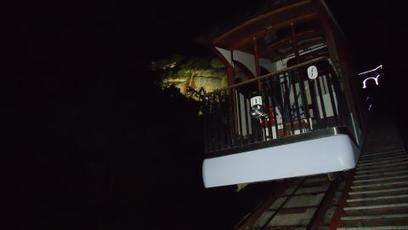 Envolées nocturnes avec le funiculaire de Saint-Hilaire | ActuMontagne | transports par cable - tram aérien | Scoop.it