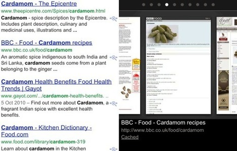 Cached Pages in Google Mobile Search | Google Sphere | Scoop.it