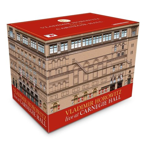 Producer Jon M. Samuels on Sony's 41-CD Box Set 'Vladimir Horowitz--Live at Carnegie Hall' | Opera & Classical Music News | Scoop.it