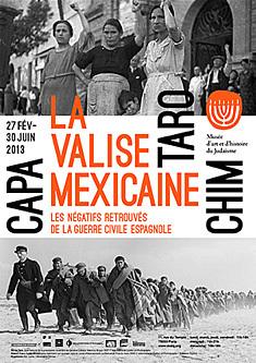 Musée d'art et d'histoire du Judaïsme Exposition La Valise mexicaine Capa, Taro, Chim.   La valise mexicaine : Capa, Chim, Taro   Scoop.it