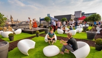 > News > Roof garden opens at Blackfriars House - Place North West | Benhil - Rooftop garden | Scoop.it