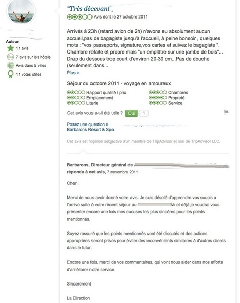Tripadvisor, le géant de la e-réputation dans le tourisme | avis clients et tourisme | Scoop.it