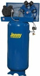 Jenny Compressors GC3A-60V-460/3 3-HP 60-Gallon Tank 3 Phase 460-Volt, Vertical Electric Single-Stage Stationary Compressor | Oil Flooded Compressor | Scoop.it