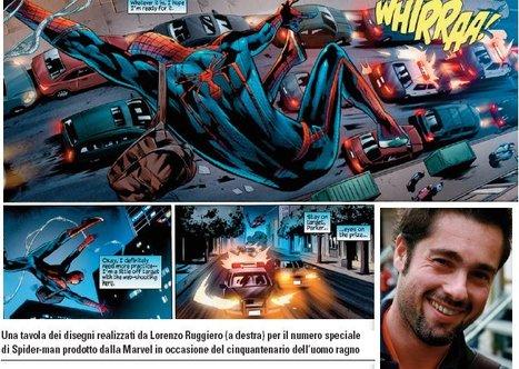 Un nuovo Spider-man all'ombra del Vesuvio | DailyComics | Scoop.it