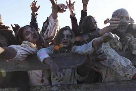 Une horde de zombies à Paris - Blog du Dimanche | Geek & Games | Scoop.it