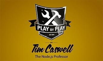 Play by Play: Tim Caswell (Node.js) | PeepCode Screencasts | Node.js News | Scoop.it